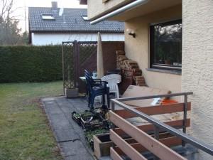 Gartenprojekt Ausgangssituation
