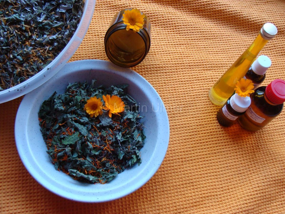 Ringelblumen-Produkte
