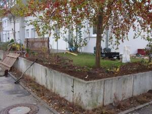 Gartenumgestaltung nachher